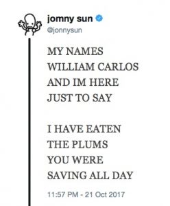 Tweet by Jonny Sun