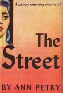 1st Edition cover of THE STREET by Ann Petry